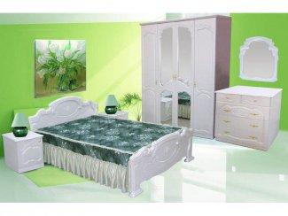 Спальня Стелла жемчуг - Салон мебели «РусьМебель»