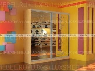 Шкаф-купе 12 - Мебельная фабрика «Люкс-С»