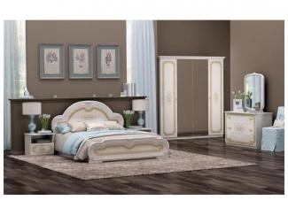 Красивая спальня Елена  - Мебельная фабрика «ИнтерДизайн»