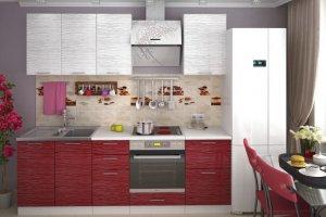 Кухонный гарнитур Страйп  - Мебельная фабрика «Славные кухни (ИП Ларин В.Н.)»