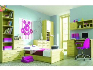 Детская Индиго 2 - Мебельная фабрика «Альбина»