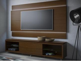 Настенная панель с тумбой Линкольн - Мебельная фабрика «Новый стиль»