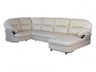 Угловой кожаный диван - Мебельная фабрика «Левано»