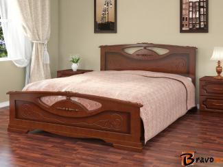 Кровать Елена 2 - Мебельная фабрика «Bravo Мебель»