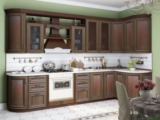 Кухня Кантри Орех Таволато - Мебельная фабрика «Любимый дом (Алмаз)»
