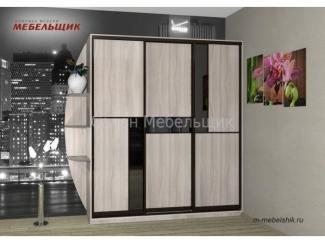 Шкаф-купе 129в-16 - Мебельная фабрика «Мебельщик» г. Саранск