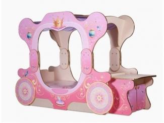 Кровать-карета «Принцесса»  - Мебельная фабрика «КАРоБАС»