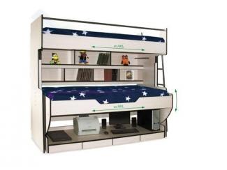 Кровать  Орион-8 трансформер - Мебельная фабрика «КорпусМебель»
