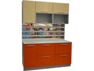 Кухонный гарнитур Акрилайн Ваниль2 - Мебельная фабрика «Петербургская мебельная компания (ПМК)», г. Санкт-Петербург