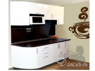 Черно-белая кухня  - Мебельная фабрика «Джая»