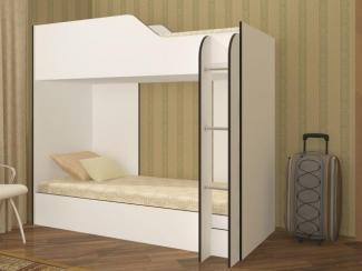 Кровать Двухъярусная ЛДСП(с лестницей) - Мебельная фабрика «Регион 058»