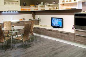 Современная кухня-столовая Моцарт  - Мебельная фабрика «NewLine»