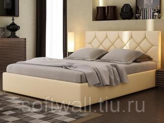 Кровать мягкая Эшли - Мебельная фабрика «SoftWall», г. Омск