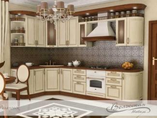 Кухня Жане массив - Мебельная фабрика «Волжская мебель»
