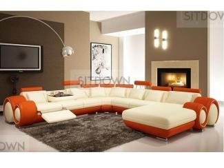 Современный диван с откидным столиком Инфинити ультра - Мебельная фабрика «Sitdown»