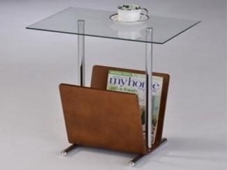 Стол журнальный с газетницей-1669 - Импортёр мебели «МебельТорг»