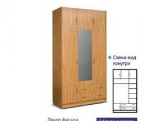 Шкаф 1314 с антресолью - Мебельная фабрика «Премьер мебель»