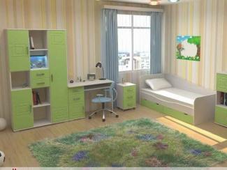 Детская Индиго вариант 8 - Мебельная фабрика «Элна»