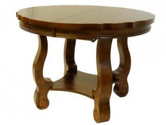 Стол круглый раскладной 3648 / SCDT-B4254-APC - Импортёр мебели «МебельТорг»