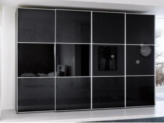 Черный шкаф-купе 56  - Мебельная фабрика «Триана»