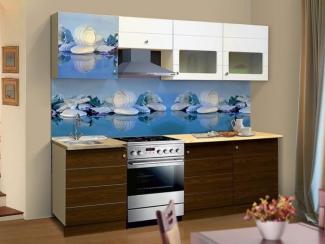 Кухонный гарнитур прямой Олимпия 14 фасад ракушки - Мебельная фабрика «РиАл»