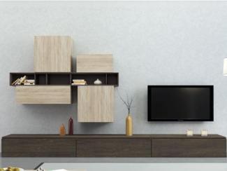 Гостиная стенка Sibox B015 - Мебельная фабрика «Астрон»