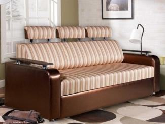 Диван прямой «Прадо Хром макси» - Мебельная фабрика «Палитра»