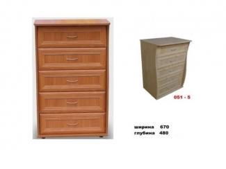 Комод 051-5  - Мебельная фабрика «МЕБЕЛов»