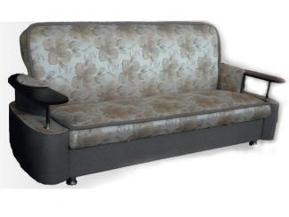 Глубокий диван с деревянными подлокотниками Натали Люкс - Мебельная фабрика «Вега»