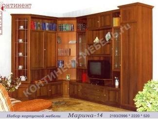 Угловая стенка Марина 14 - Мебельная фабрика «Континент-мебель»
