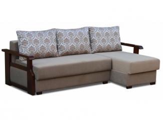 Угловой диван с деревянными подлокотниками Катюша 2 - Мебельная фабрика «Катюша», г. Краснодар