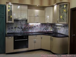 Кухня угловая Шампань - Мебельная фабрика «Маруся мебель»