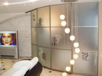 Шкаф - купе радиусный  - Изготовление мебели на заказ «Мега», г. Челябинск