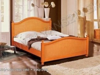 Кровать из дерева Вилия 1.1 - Мебельная фабрика «Альянс 21 век»