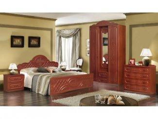 Спальня модульная Виктория комплектация 1 - Мебельная фабрика «Аристократ»