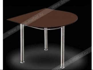 Стол Версаль со стеклянной столешницей - Мебельная фабрика «ДЕЛИС»