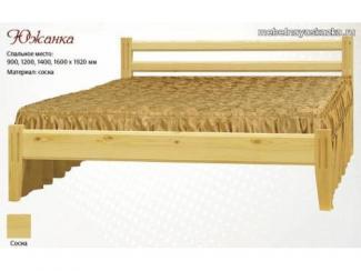 Кровать Южанка - Мебельная фабрика «Мебельная Сказка»