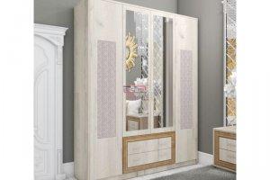 Шкаф платяной Версаль ЛДСП Дуб золотой - Мебельная фабрика «Вестра»