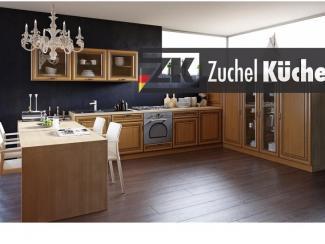 Кухонный гарнитур угловой Аурих Вишня - Мебельная фабрика «Zuchel Kuche (Германия-Белоруссия)»