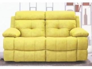 Двухместный диван Берт с реклайнером - Мебельная фабрика «Defy Mebel»