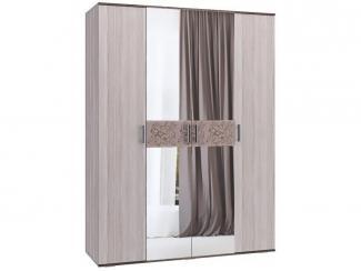 Распашной шкаф 4 створки Вдохновение  - Мебельная фабрика «Ваша мебель»