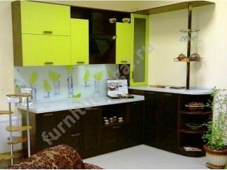 Черно-зеленая кухня  - Изготовление мебели на заказ «Игал»