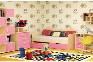 Удобная детская мебель Незабудка  - Мебельная фабрика «Пирамида», г. Краснодар