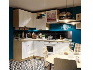 Кухня угловая СТРАЙП - Изготовление мебели на заказ «Кухни ЧУ»