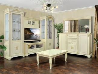 Гостиная стенка Ломбардия - Мебельная фабрика «Прометей»
