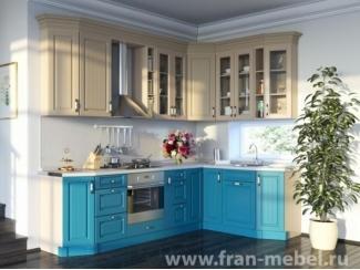 Кухня угловая Ариэль (Трио) - Мебельная фабрика «Фран»