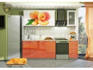 Кухня с фотопечатью Персик - Мебельная фабрика «ДСВ-Мебель»