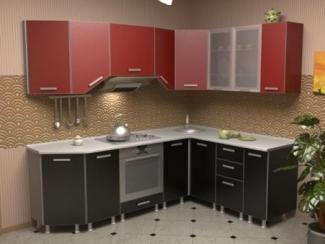 Кухня угловая Азалия комплектация 4 - Мебельная фабрика «Алсо»