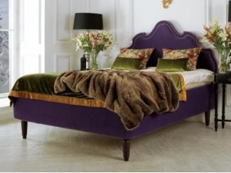 Фиолетовая кровать Оскар  - Мебельная фабрика «Рой Бош»