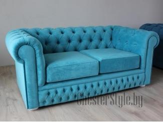Двухместный диван Chester велюр - Мебельная фабрика «ChesterStyle», г. Гродно